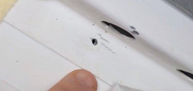 Buraco na Estação Espacial não ocorreu por causa natural