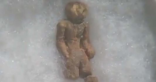 Estatueta de 2 milhões de anos desafia a arqueologia