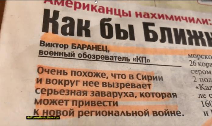Maior jornal da Rússia alerta seus cidadãos para guerra iminente