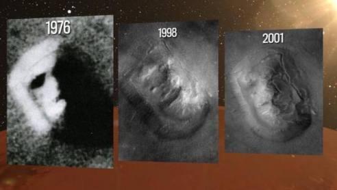 A Face de Marte foi prevista em um gibi de 1958 1