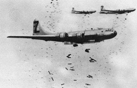 Onda de choque das bombas da Segunda Guerra Mundial