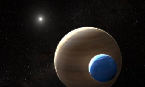 Primeira lua é encontrada fora do nosso Sistema Solar