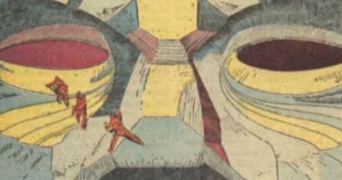 A Face de Marte foi prevista em um gibi de 1958