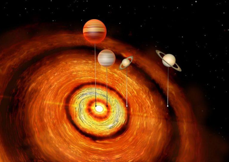 Novo sistema solar é descoberto com dois planetas similares a Júpiter e dois similares a Saturno Novo-sistema-solar