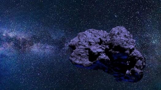 Misteriosa rocha espacial azul não é cometa nem asteroide