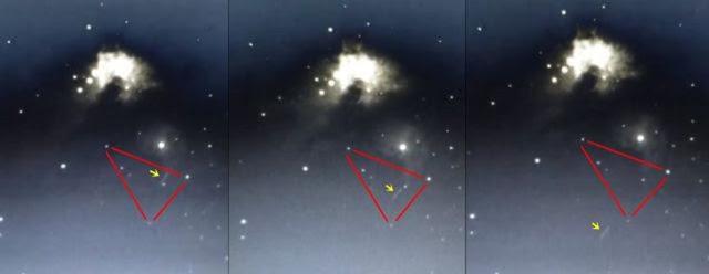 OVNI é fotografado próximo da Nebulosa de Órion