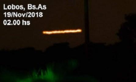 Onda de avistamentos de OVNIs na Argentina