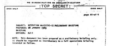 MJ-12: Nova investigação mostra que documento que expõe contato extraterrestre é autêntico 2