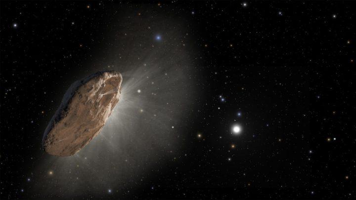 objetos vindos de fora do nosso sistema solar