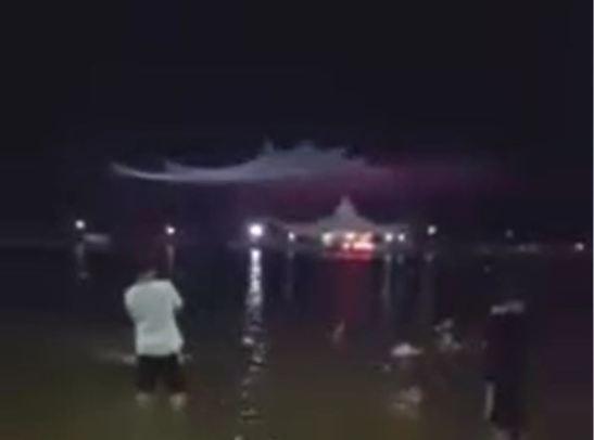 Auroras boreais na Indonésia?