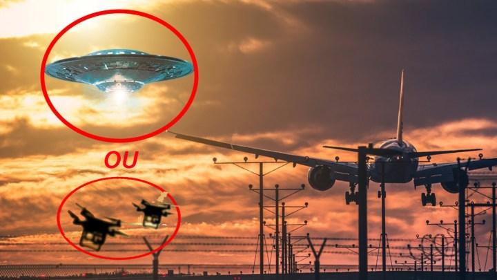 OVNIs provocam o fechamento do segundo aeroporto mais movimentado do Reino Unido