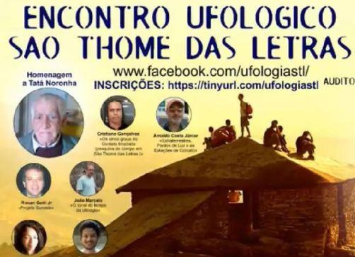 bastidores do Encontro Ufológico em São Thomé Das Letras