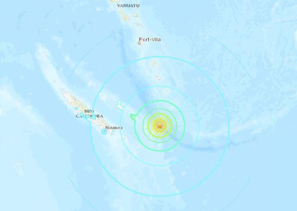 Grandes terremotos ocorreram hoje próximos de ponto previsto no final de novembro