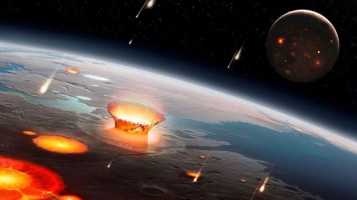 A vida na Terra surgiu de colisão com outro planeta