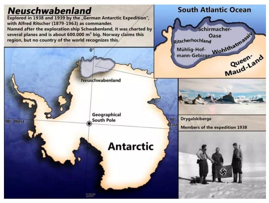 Teriam os nazistas vencido a batalha da Antártica, após a Segunda Guerra Mundial? 4