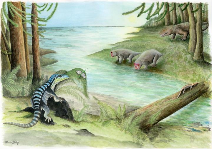 Fóssil de dinossauro é encontrado na Antártica