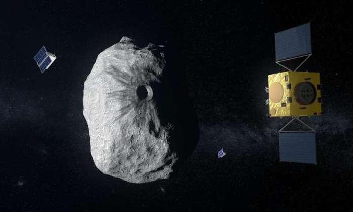 Como a ESA estudará asteroide que terá sua órbita alterada pela NASA