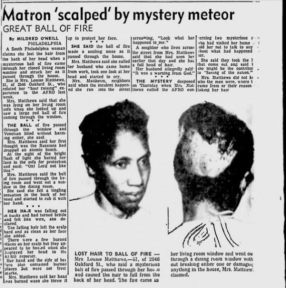 O dia em que misteriosas bolas de fogo e homens de preto desceram na Filadélfia 1