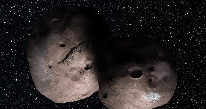 NASA detecta estruturas enigmáticas no asteroide Ultima Thule