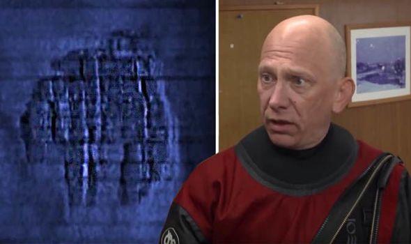 Mergulhador revela que a Anomalia do Mar Báltico é concreto moldado