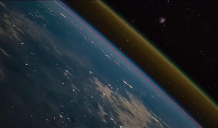 Lançamento de foguete é filmado da Estação Espacial Internacional 1