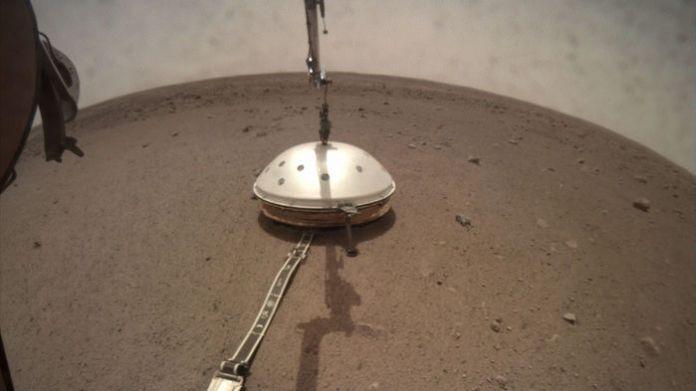 Terremoto em Marte é registrado pela primeira vez