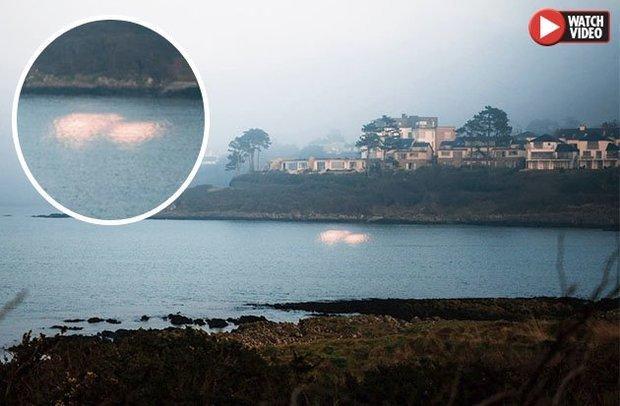 Luzes subaquáticas misteriosas aparecem no litoral da Irlanda