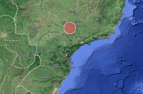restos de supervulcão estão abaixo de São Paulo