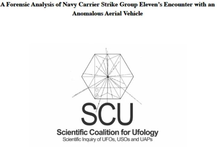 Grupo científico libera análise completa sobre encontro de OVNIs com Marinha dos EUA