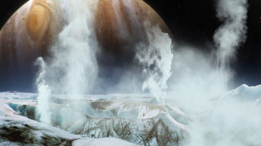 Fósseis em lua de Júpiter