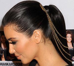 Como fazer uma bela cauda do cabelo na cabeça