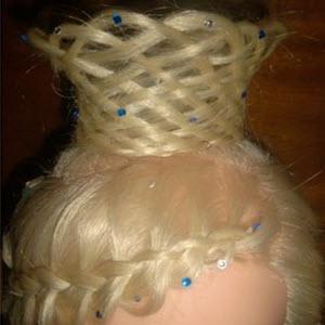 Қыздарға арналған шаш корона шаштары