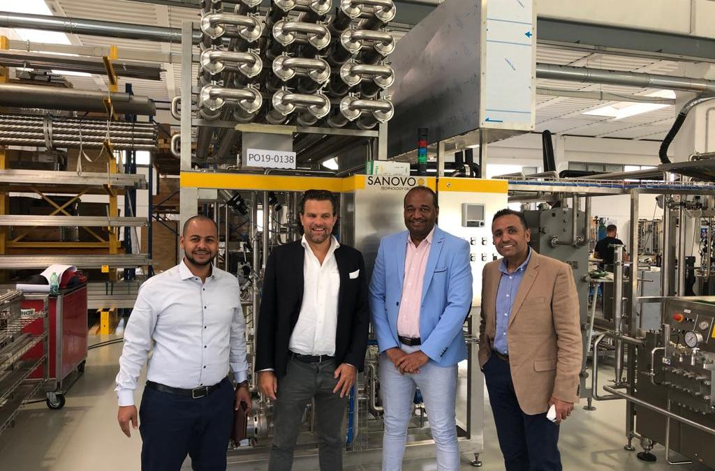 A Sanovo pasteuriser will soon be installed in Sudan.