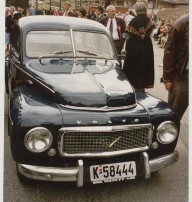 En nyere utgave av Volvo PV 444: denne er det Bjug og Georg Homme som eier.