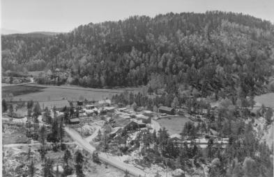 Øvrebø Sagbruk og Høvleri på 1950-tallet