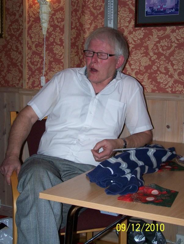 Vi hadde vært så heldige å få Paul Sveinall til å fortelle om barnevandringene. Som den dyktige kåsør han er kom han også inn på andre emner.