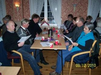 Fra v. Odd Reidar og Gyro Loland, Magne Ivar Rokoengen, Annemor Horrisland, Gudrun Håberg, Nils og Randi Wehus.