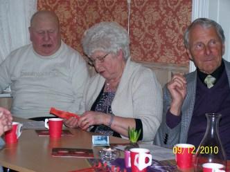 Torleiv & Mari Bjerland, Alf Eikaas.