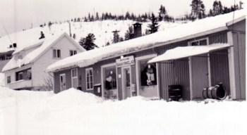 Øvrebø Samvirkelag og huset til Øyvind Føreland
