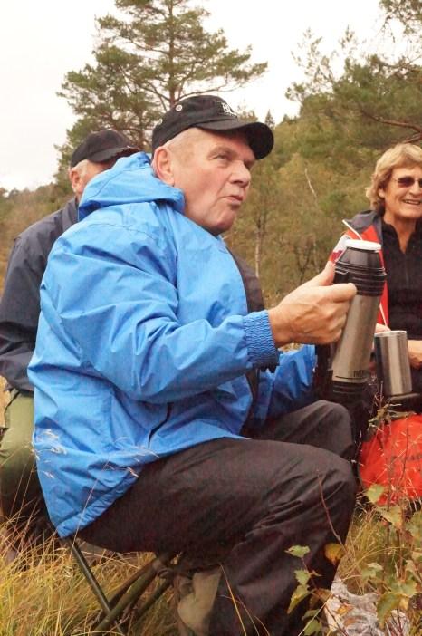 Odd Erling Aurebekk hadde planlagt turen og lagt alt til rette for oss.