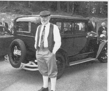 Per Slettedal og hans veteranbil: Essex