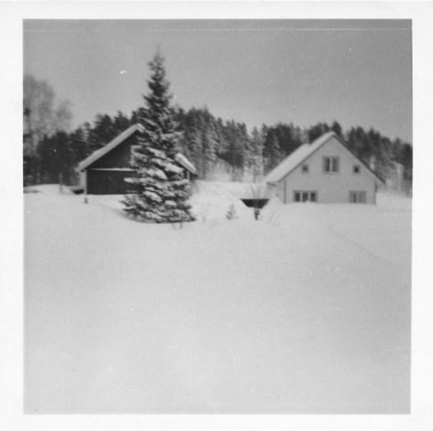 Snøvinteren 1966 på Fjellestad.