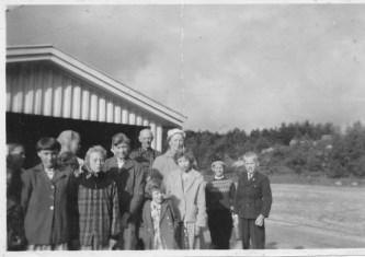 Mølla skule 1958