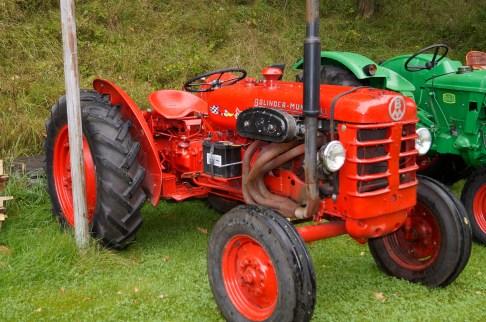 En Bolinder Munktell, svensk traktor, men som du kanskje ser er denne modifisert ganske mye (Eier Jon Magne Horrisland)