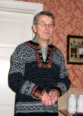 Lars Asbjørn Ilebekk var møteleder på julemøtet 2006