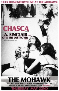 Chasca A. Sinclair Otis the Destroyer Mohawk