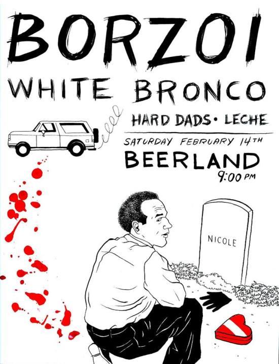 Borzoi White Bronco Beerland