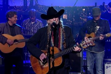 Willie Nelson David Letterman