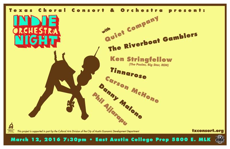 Indie Orchestra Night Poster