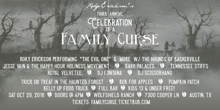 Roky Erickson Family Curse